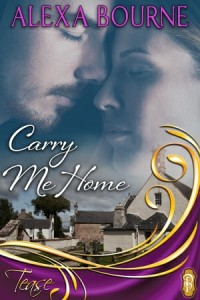 Book Cover - Carry Me Home by Alexa Bourne