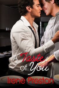 A Taste of You by Irene Preston - M/M Romance Cover