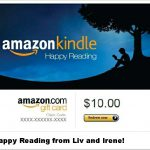 Enter to Win a $10 Gift Card from Amazon or Barnes and Noble