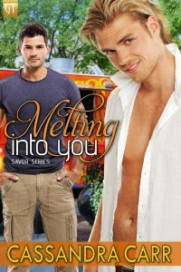 Melting Into You by Cassandra Carr - Foodie Romance