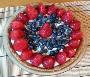 Red White and Blue Pie