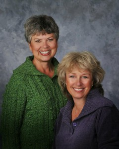 Author Morgan O'Neil ( Cary Morgan Frates and Deborah O'Neill Cordes)