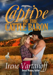 Captive of the Cattle Baron by Irene Vartanoff
