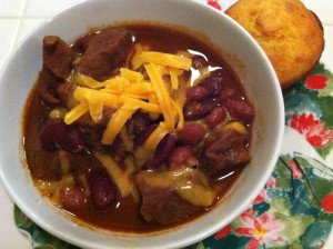 Alice Orr's Chili Mole Recipe