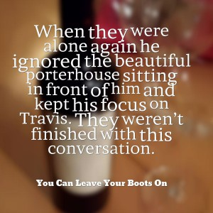 Porterhouse and conversation