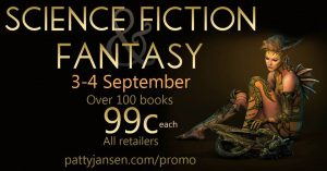 Over 100 SF/F books for 99 cents - SALE!