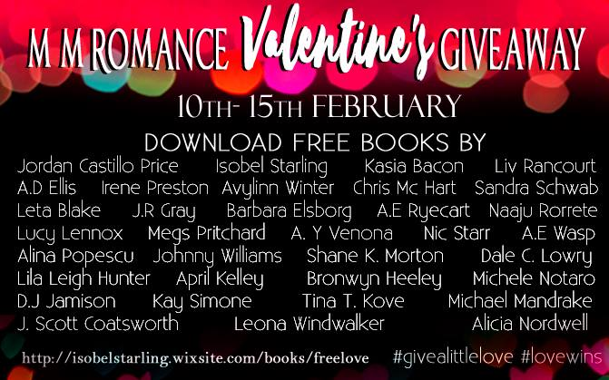 Valentines Day M/M Romance Giveaway